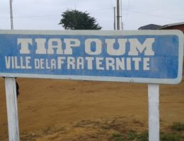 la commune de tiapoum