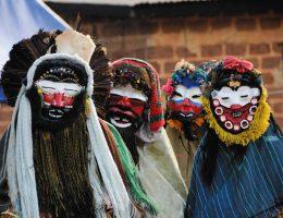 les masques en cote divoire
