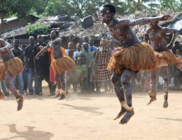 le kotou danse de rejouissance chez les akoue