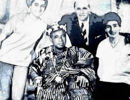 lhistoire de la royaute en pays abbey le roi mbassidje eddo yavo francois 1895 1971