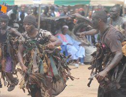 le kle danse guerriere du peuple kroumen