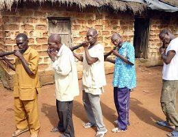 le gbofe dafounkaha la musique des trompettes traversieres et lespace culturel de la communaute tagbana